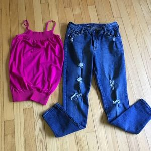 Tank and jeans bundle